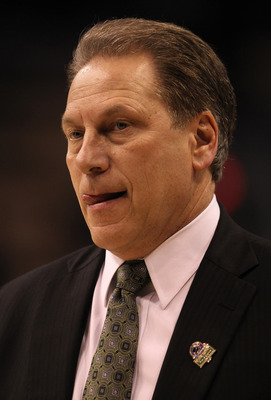 Tom Izzo is probably licking his lips at this moment, planning a way to make it to his seventh Final Four.