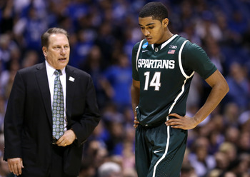 Tom Izzo went through the gauntlet in 2012-13.