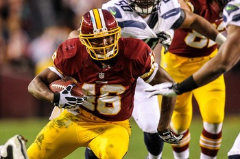 Alfred Morris shocked the NFL in 2012.