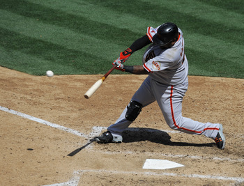The Kung Fu Panda leads the Giants with 29 RBI.