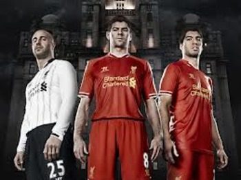 Liverpool 2013-14 home kit
