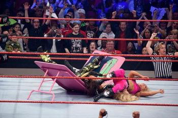 The Divas in action (photo from wwe.com)
