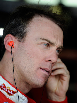 Kevin Harvick is one of the best examples of a NASCAR driver with fire in his gut.