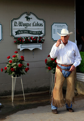 Trainer D. Wayne Lukas always has a shot in big races