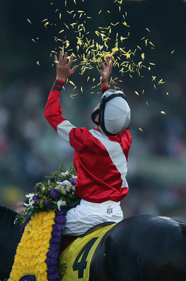 Jockey Brian Hernandez won the 2012 Breeders' Cup Classic aboard Fort Larned