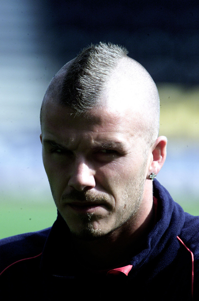 Turf Playerz The Evolution Of David Beckham S Hairstyles