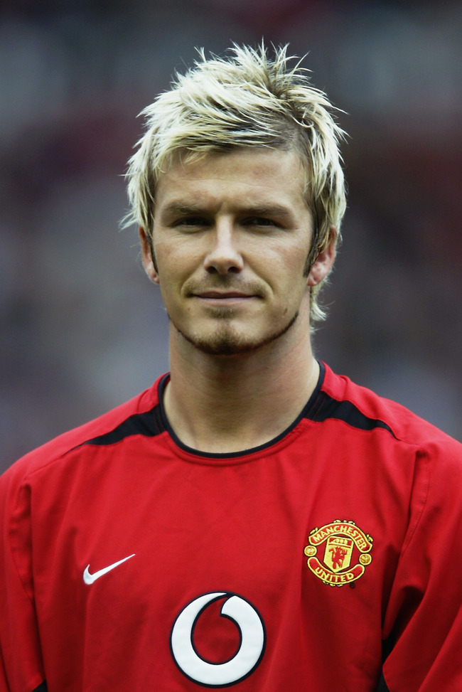 Gallery images and information beckham hairstyle 2006