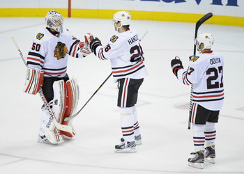 Crawford has renewed his confidence with the support of Blackhawks fans behind him.