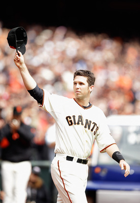 Buster Posey loves playing in front of Giants fans.