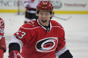 Jeff Skinner's impact and effort dwindled as the 2013 season went on. Can he push off his concussion issues and return to stardom in 2014?
