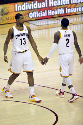 Getting Kyrie Irving and Tristan Thompson was a pleasant surprise.