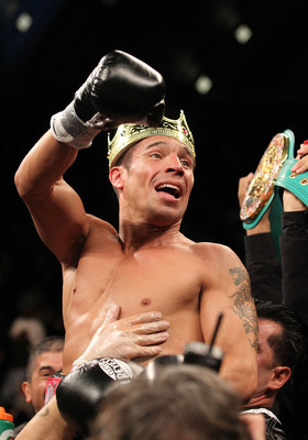 Sergio Martinez revels in the aftermath of a star-making performance.