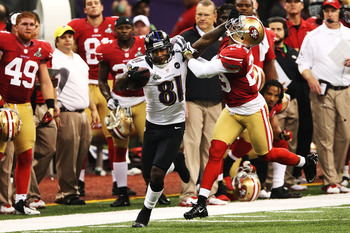 Anquan Boldin made several big catches in the Super Bowl.
