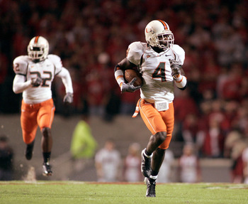 Devin Hester was a dynamic returner during his collegiate career at Miami.