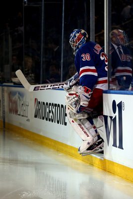 After an atypical performance in Game 2, Lundqvist was back on the money on Tuesday night.