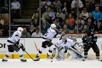 Jonathan Quick leads the playoffs in goals-against. Again.