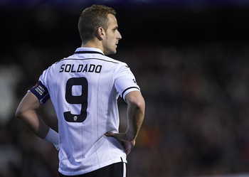 Soldado in a Spurs shirt next season?