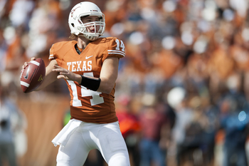 David Ash is in sole possession of Texas' starting quarterback position. His stats will reflect that.