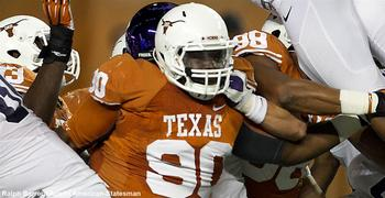 Malcom Brown has an outside shot of leading the Longhorns in TFL this season. Ralph Berrera/Austin American-Statesman