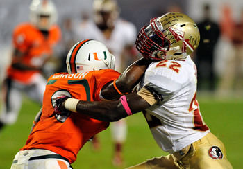 Florida State always seems to be getting in the 'Canes way.