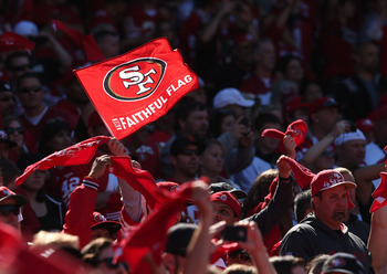 The 49ers will be moving to their new ballpark in Santa Clara in 2014.