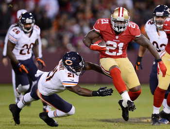 Frank Gore rushed for 1,214 yards in 2012.