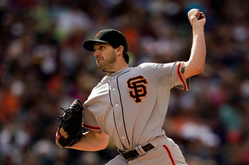Barry Zito has pitched much better at home than on the road.