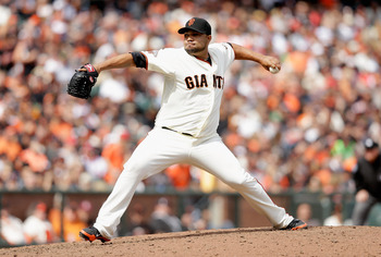 Jose Mijares gives the Giants three quality lefties in their bullpen.
