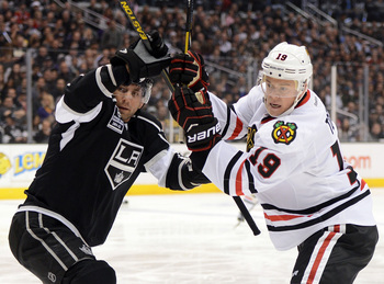 The Western Conference finals are going to be a battle for the Blackhawks.