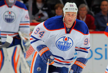 2013-2014 may be Ryan Smyth's swan-song with the Oilers.