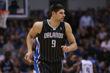 Magic fans hope Vucevic can continue to grow next season.