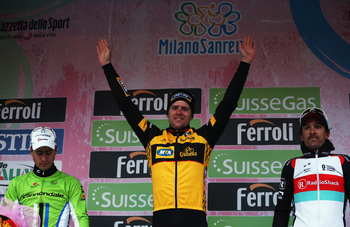 Gerald Ciolek beat the favorites to win a treacherous Milan-San Remo.