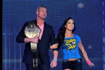 Dolph Ziggler and AJ Lee have a chance to become a power couple this year. Photo courtesy of WWE.com