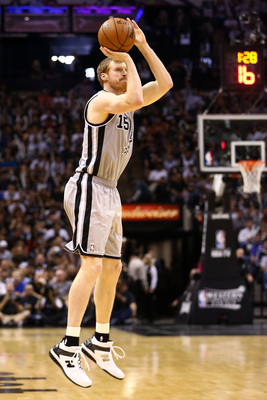 Bonner is San Antonio's best outside shooter.