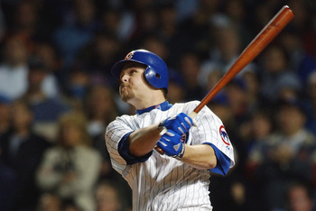 On this swing Kerry Wood's homer tied Game Seven at three...but Florida prevailed.