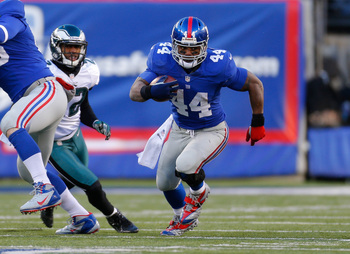 Running back Ahmad Bradshaw has been plagued by injuries but appears to be in good form for 2013.