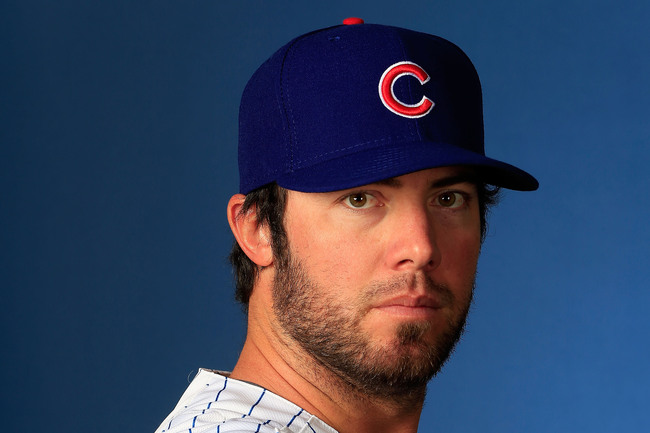 MESA, AZ - FEBRUARY 18:  Ian Stewart #2 poses during Chicago Cubs photo day on February 18, 2013 at HoHoKam Park in Mesa, Arizona.  (Photo by Jamie Squire/Getty Images)