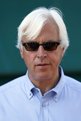 Bob Baffert was without a starter in the Belmont.