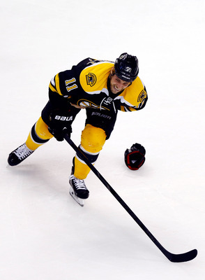 Gregory Campbell's broken leg creates a void for Boston.