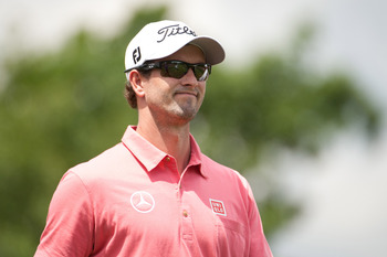 Adam Scott is the only player in the field with a chance to win the Grand Slam.