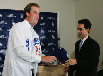 Mets' VP of Player Development and Amateur Scouting, Paul DePodesta was a former Dodgers GM.