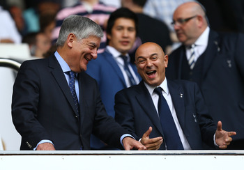 Daniel Levy (right)