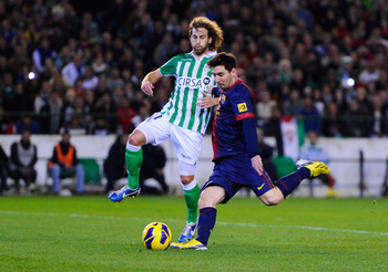 Canas battling Messi