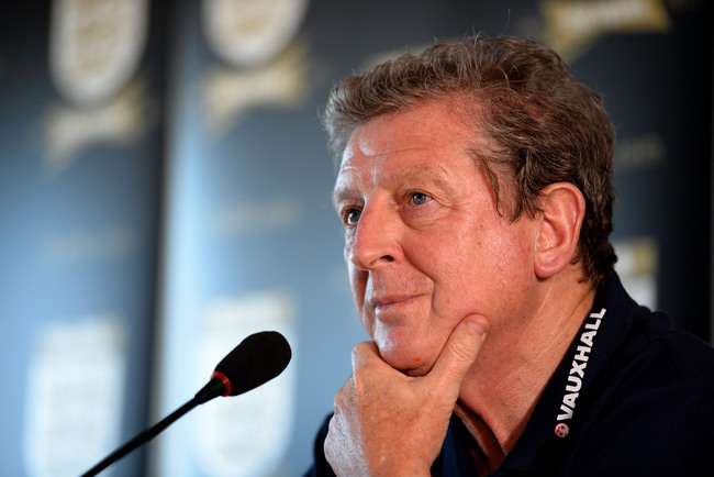 RIO DE JANEIRO, BRAZIL - JUNE 01: Manager Roy Hodgson of England speaks to the media during a press conference ahead of their international friendly match against Brazil at Hotel Windsor on June 1, 2013 in Rio de Janeiro, Brazil.  (Photo by Laurence Griff