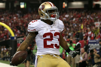 LaMichael James Should get more playing time in 2013.