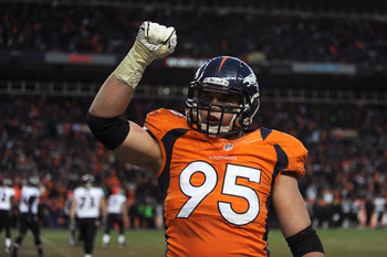 Derek Wolfe will be freed to make more impact plays this season.