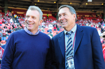 Joe Montana and Dwight Clark together once again.