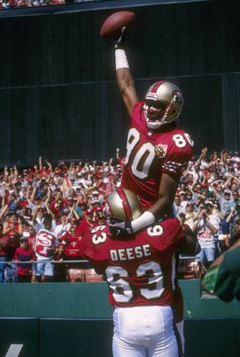 Jerry Rice is the greatest wide receiver in the history of the NFL.