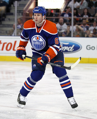 Ryan Whitney is a crafty veteran that would be a nice mentor for younger D-men.