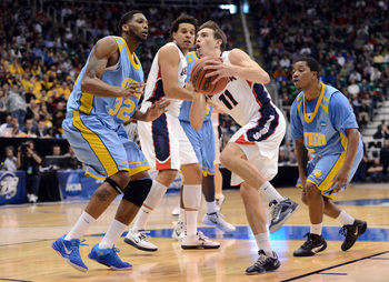 David Stockton and Gonzaga's guards must work on strength this offseason.